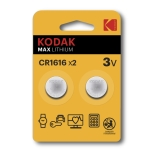 Kodak Max lithium CR1616 2-pack