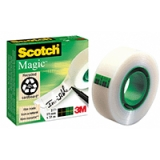 Dokumentteip Scotch 810, 33m x 19mm 5 stk