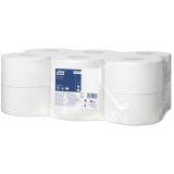 Toalettpapper Tork T2 Universal Mini Jumbo 1-Lag 12Rl/Fp