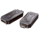 Vivanco Adapter HDMI A Hun - GHDMI C Han (Mini HDMI)