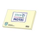 Notes 76x127 mm keltainen kierrätyspaperi (12)