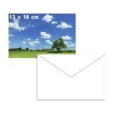 Photo-kiiltopaperi, 13x18cm 5 ark. 250g + 3 kirjekuori