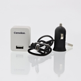 Camelion USB-lader Lightning Apple og Micro-USB 230 / 12V