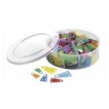 Plastikclips LAUREL 21,25,35mm (420)