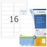 Etikett HERMA Premium A4 99,1x33,8 (100)