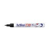 Textilmärkpenna Artline EK-750 svart