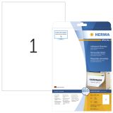 Etikett HERMA Movables 210x297 (25)