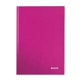 Muistikirja Leitz Wow A5 viivoitettu, vaaleanpunainen