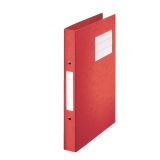 Ringpärm papp A4/23mm röd