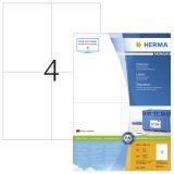 Etikett HERMA Premium A4 105x148 (100)