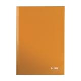 Anteckningsbok Leitz Wow  A5 linjerat orange