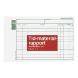 Blankett tid-materialrapport A5L 50 st