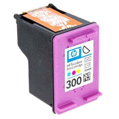 HP 300 trefärgspatron, original 165 sidor