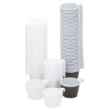 Kahvikuppi muovi 21 cl valkoinen (50)