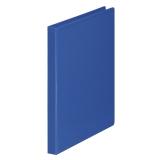 Ringpärm A4/PP 4RR/16mm 2 fickor blå
