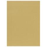 Kartongmapp A4 1-klaff brun