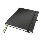 Muistikirja Leitz iPad-size, viivoitettu, musta