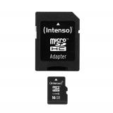 Intenso Micro SD 16GB Class 10