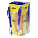 Kuglepen BIC Clic M10 blå Dokumentægte, 50 stk