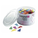 Plastikclips Laurel 25 mm, 500 stk.