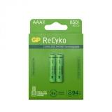 GP Recyko 650mAh AAA/HR03 2-pack
