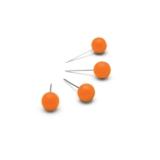 Kartnålar Nobo Orange (100 st)