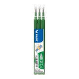 Refill 3-pack Frixion 0,7 grön