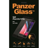 PanzerGlass iPhone 6+/6S+/7+/8+ Jet Svart